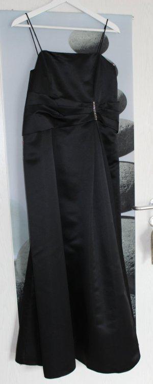 Elegantes Abendkleid in schwarz mit Etikett