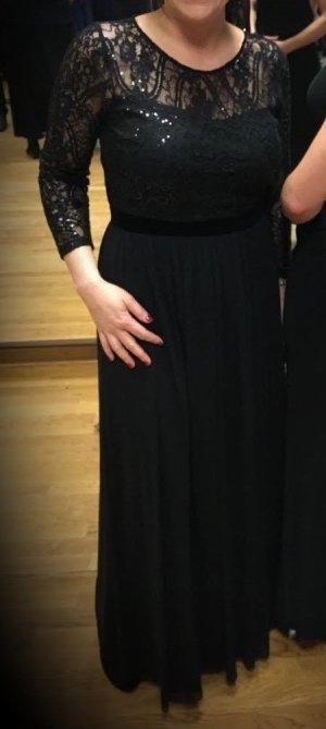elegantes Abendkleid schwarz Gr. 38