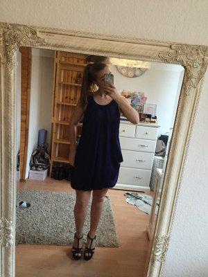Elegantes Ballonkleid in blau für Damen