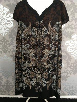Elegantes Cocktail Kleid mit Paisley Muster