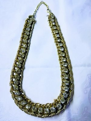 Collier Necklace gold-colored