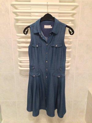 Elegantes Denim, Jeanskleid mit Kragen von Karen Millen