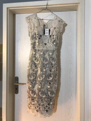 Asos Tall Cocktail Dress natural white-grey