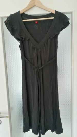 elegantes Esprit-Kleid mit Materialmix