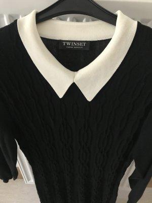Elegantes figurbetontes Strickkleid von Twinset, TOP Zustand (nur 1x getragen)