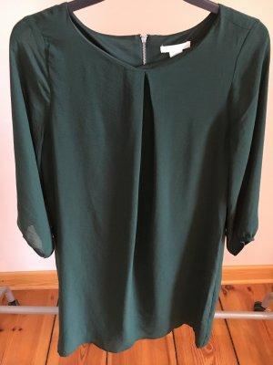 Elegantes grünes Blusenkleid