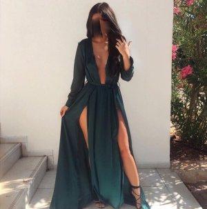 Elegantes Khaki Kleid
