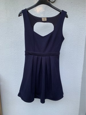 lost Cut out jurk donkerblauw