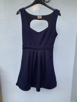 lost Vestido cut out azul oscuro