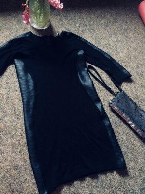Elegantes Kleid Abendkleid Leder L XL