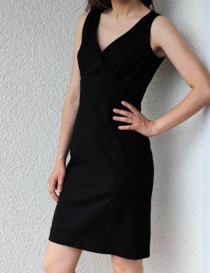 elegantes Kleid Audrey Hepburn Classic Black Etuikleid Kleine Schwarze Business Coco