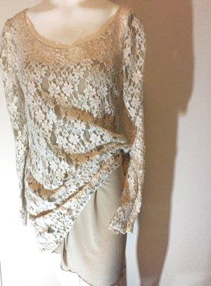 Elegantes Kleid aus Spitze Gr.  L    Yimi