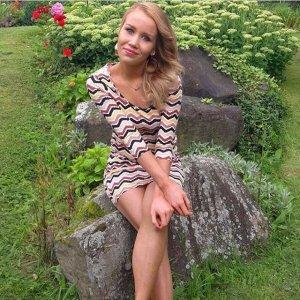 Elegantes Kleid bunt mit 3/4 Ärmeln