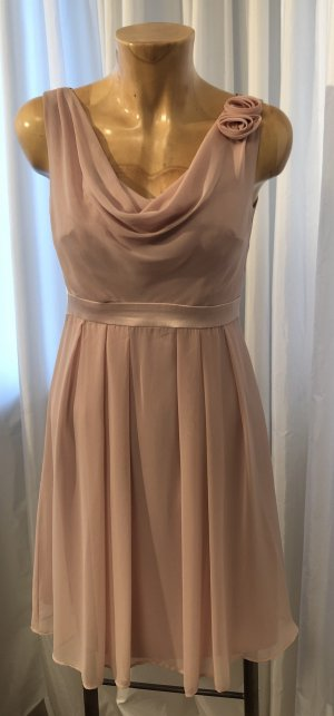 Marie Noir Empire Dress rose-gold-coloured