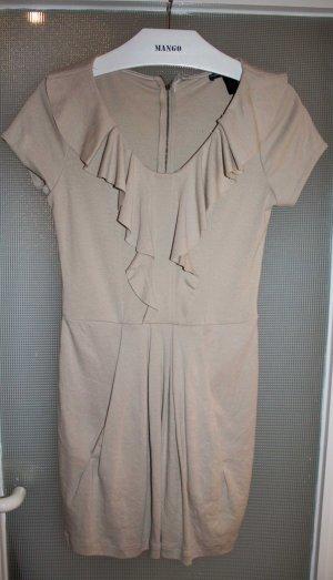 Elegantes Kleid in creme, nur einmal getragen!