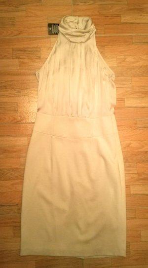 Elegantes Kleid in Cremefarben