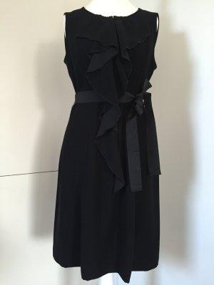 Elegantes Kleid in Schwarz mit Schleife / Elie Tahari - Gr. 40 (40/42)