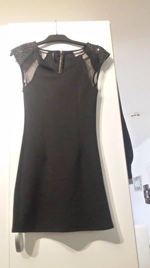 elegantes Kleid mit Glitzersteinchen