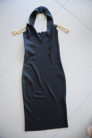 Elegantes Kleid mit goldenen Trägern