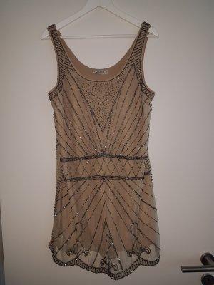 Elegantes Kleid mit Pailletten (2-lagig) von Pull&Bear