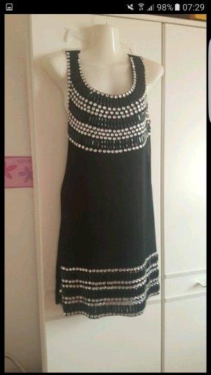 elegantes kleid schwarz