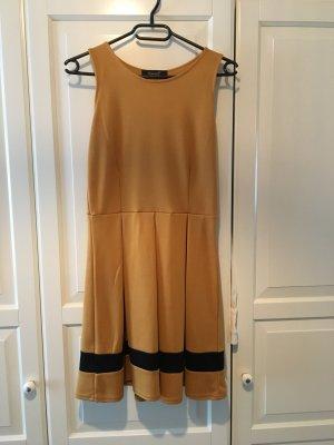 Elegantes Kleid Senfgelb S