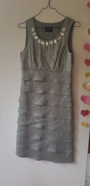 elegantes Kleid, sixt sense, hellgrau, Größe 36, NEU!