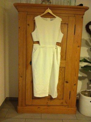 Asos Maxi Dress natural white polyester
