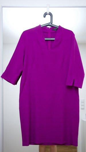 Elegantes Kleid von Comma mit Taschen in Lila, nur 1 Mal getragen!