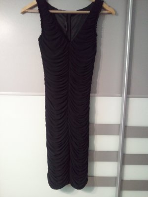 Elegantes Kleid von Maria Bianca Nero Schwarz Raffung S