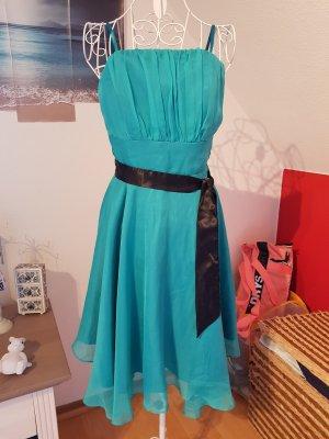 elegantes knielanges Abendkleid