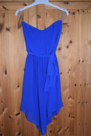 elegantes kurzes Kleid in königsblau