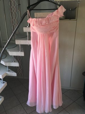 Elegantes Maxikleid in rosa