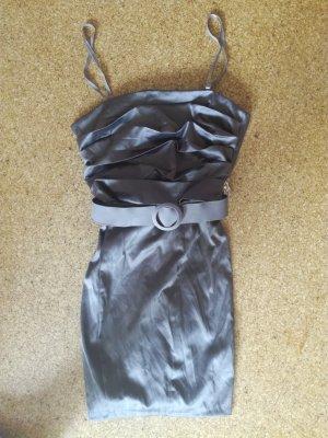 Diva Mini-jurk grijs-bruin