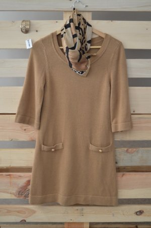 Elegantes Outfit bestehend aus Kleid, Tuch und Armreif Größe S