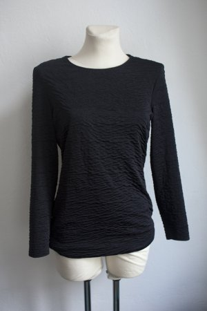 Backless Top black polyester