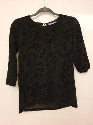 Elegantes Samt - Longshirt