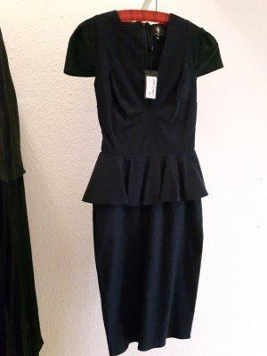 Elegantes Schößchenkleid in dunklem blau ***NEU***
