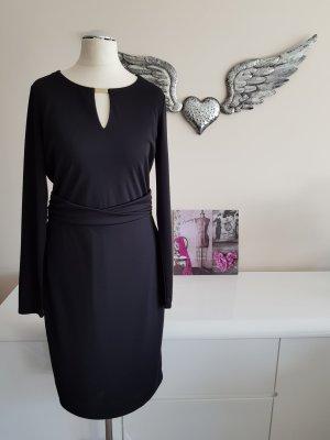 Elegantes schwarzes Abendkleid (Midi) von Esprit