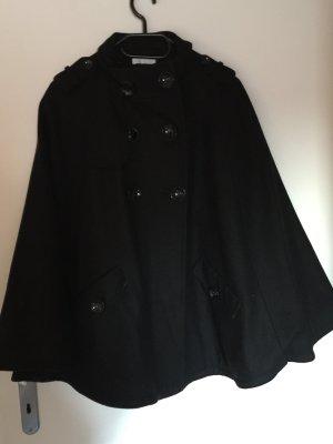 Elegantes schwarzes Cape von Promod