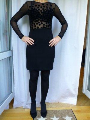 Elegantes schwarzes Etuikleid!