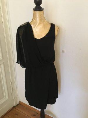 Elegantes schwarzes Kleid