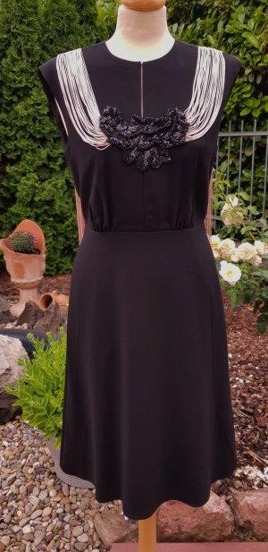 Elegantes schwarzes Kleid NEU Gr. 38 * das kleine Schwarze