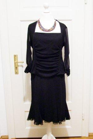 Elegantes schwarzes Kleid Rock mit Oberteil