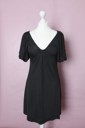 Elegantes schwarzes Kleid von ZARA Evening Collection mit Puffärmeln NEU