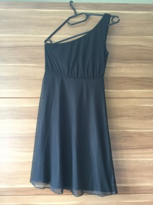 Elegantes schwarzes One Shoulder Abendkleid von Even & Odf