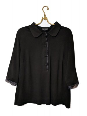 Ambria Selection Oversized shirt zwart-antraciet