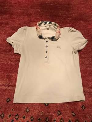 Burberry Camiseta tipo polo multicolor