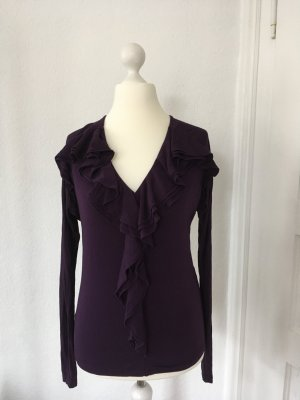 Elegantes Shirt in lila von RALPH LAUREN – Größe M