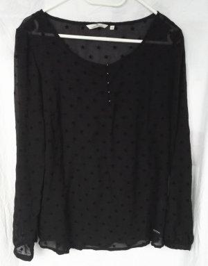 Tom Tailor Empire Waist Shirt black